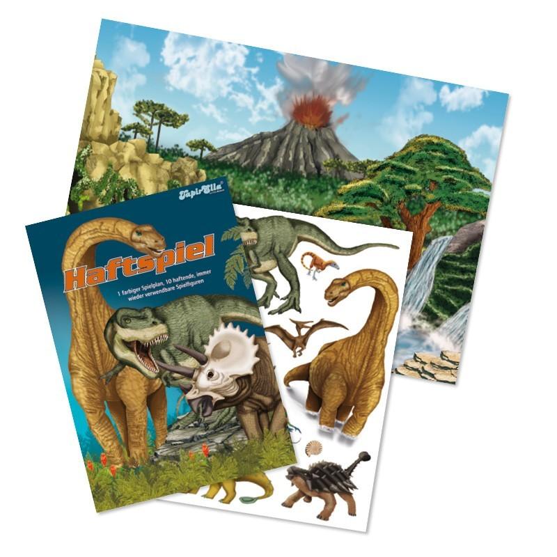 Haftspiel Dinosaurier vom Lutz Mauder Verlag
