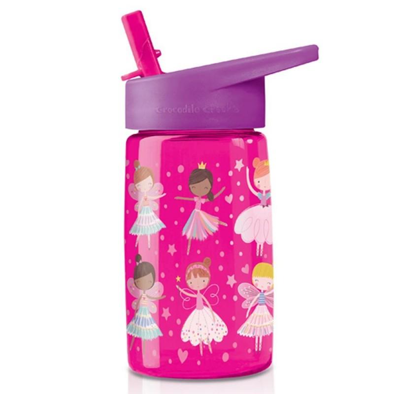 Trinkflasche Eco Kids Pink Wonders aus Tritan von Crocodile Creek