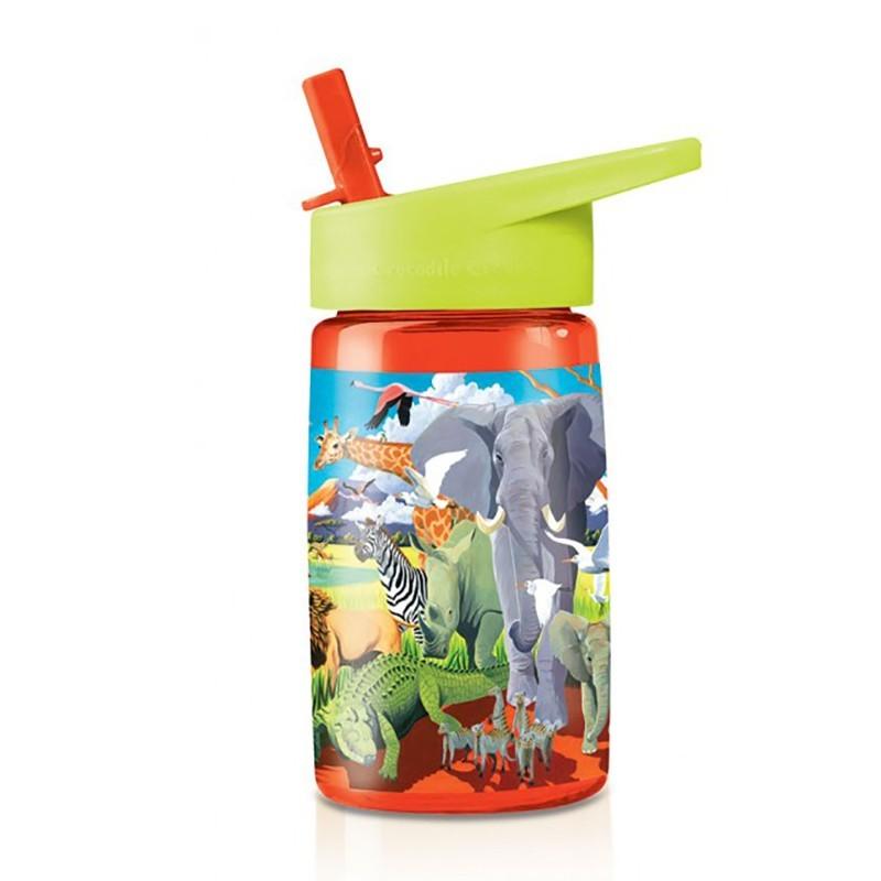 Trinkflasche Eco Kids Safari aus Tritan von Crocodile Creek