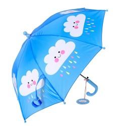 Kinder Regenschirm Happy Cloud in blau