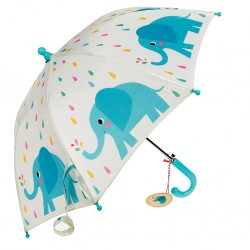 Kinder Regenschirm Elvis the Elephant in bunt