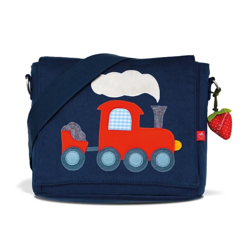 Kindergartentasche Eisenbahn von la fraise rouge