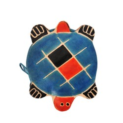 Lederbörse Schildkröte