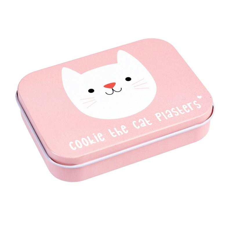 Pflaster Cookie the Cat in Metalldose von Rex London