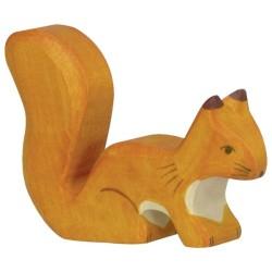 Holztiger Holzfigur Eichhörnchen