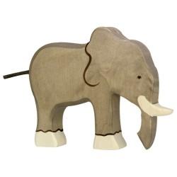 Holztiger Holzfigur Elefant