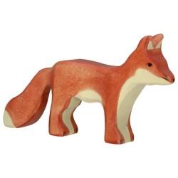 Holztiger Holzfigur Fuchs
