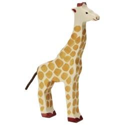 Holztiger Holzfigur Giraffe