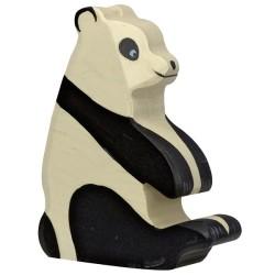 Holztiger Holzfigur Panda