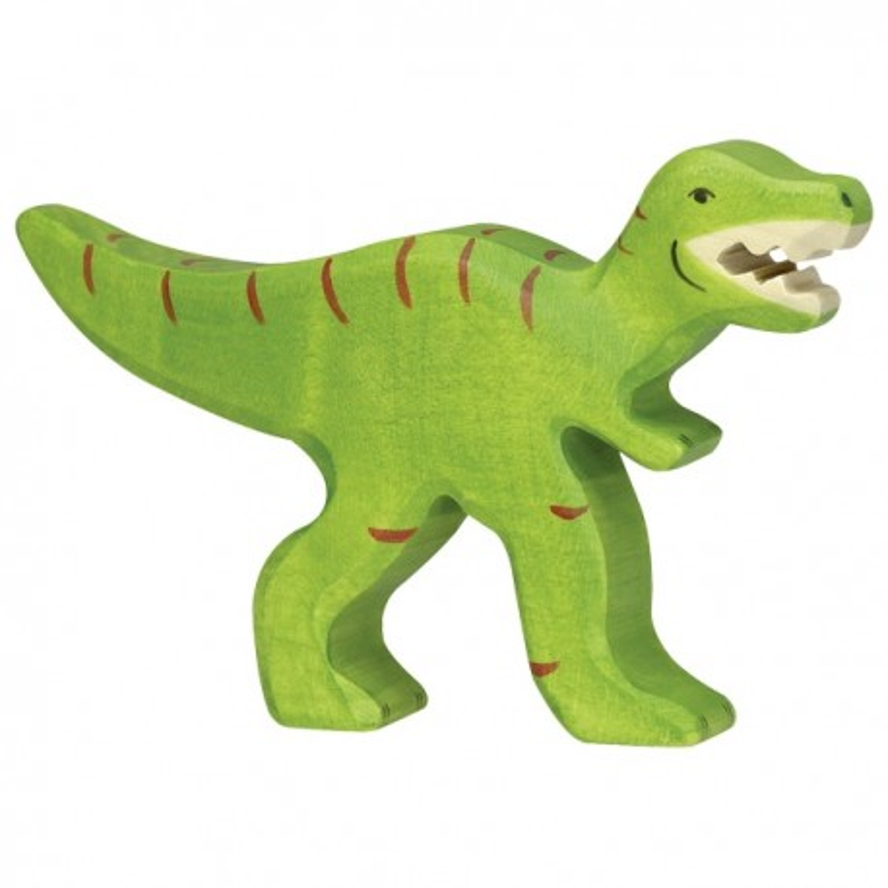 Holztiger Holzfigur Dinosaurier Tyrannosaurus Rex