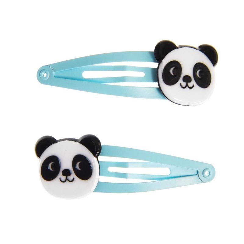 Haarspangen Miko the Panda von Rex London