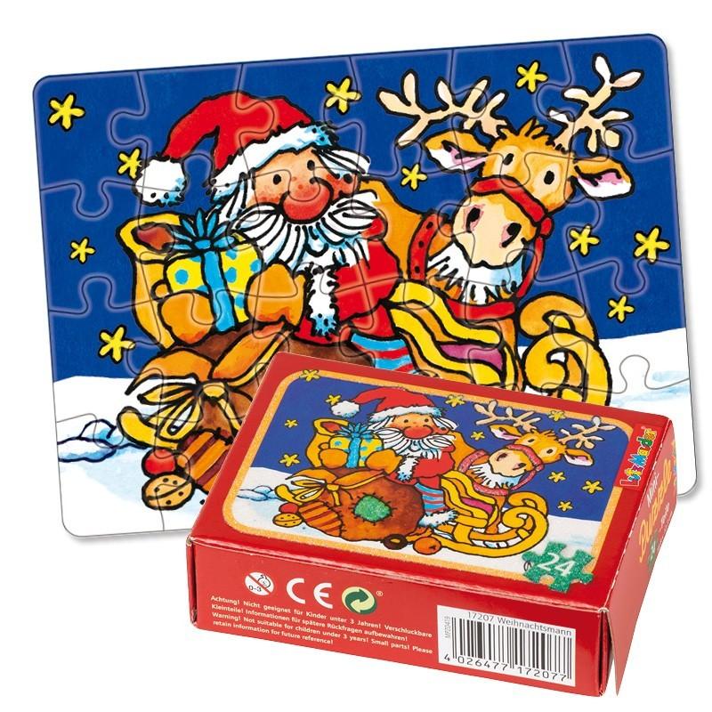 Mini Puzzle Weihnachten