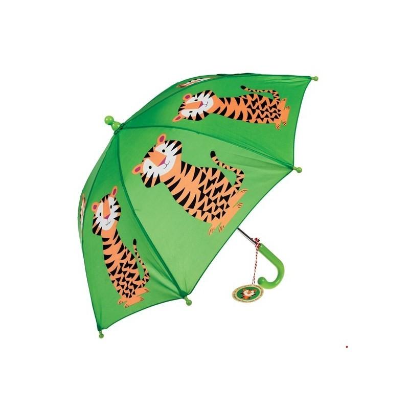 Kinderregenschirm Teddy the Tiger von Rex London