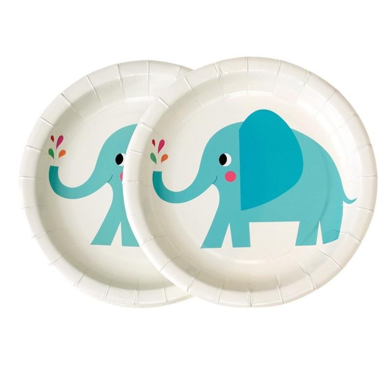 Pappteller Elvis the Elephant von Rex London