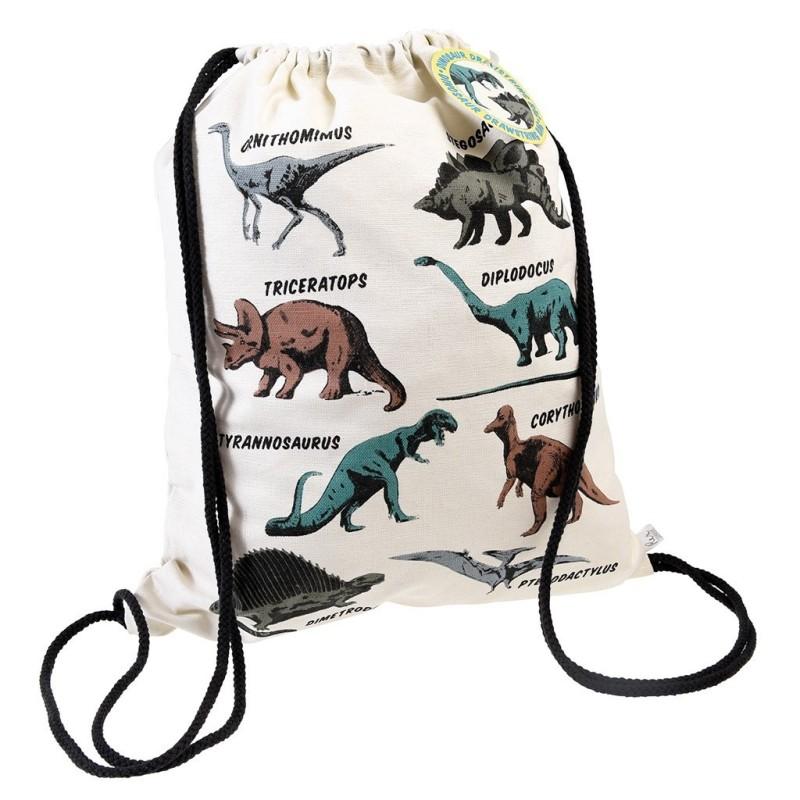 Turnbeutel Dinosaurier Prehistoric Land von Rex London