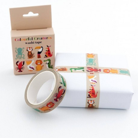 Washi Tape Colourful Creatures von Rex London
