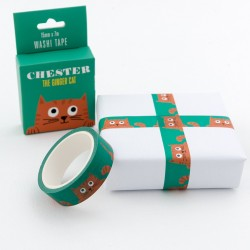 Washi Tape Chester the Cat von Rex London