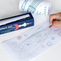 Mini Spiele und Ausmalen Weltraum Space Age von Rex London