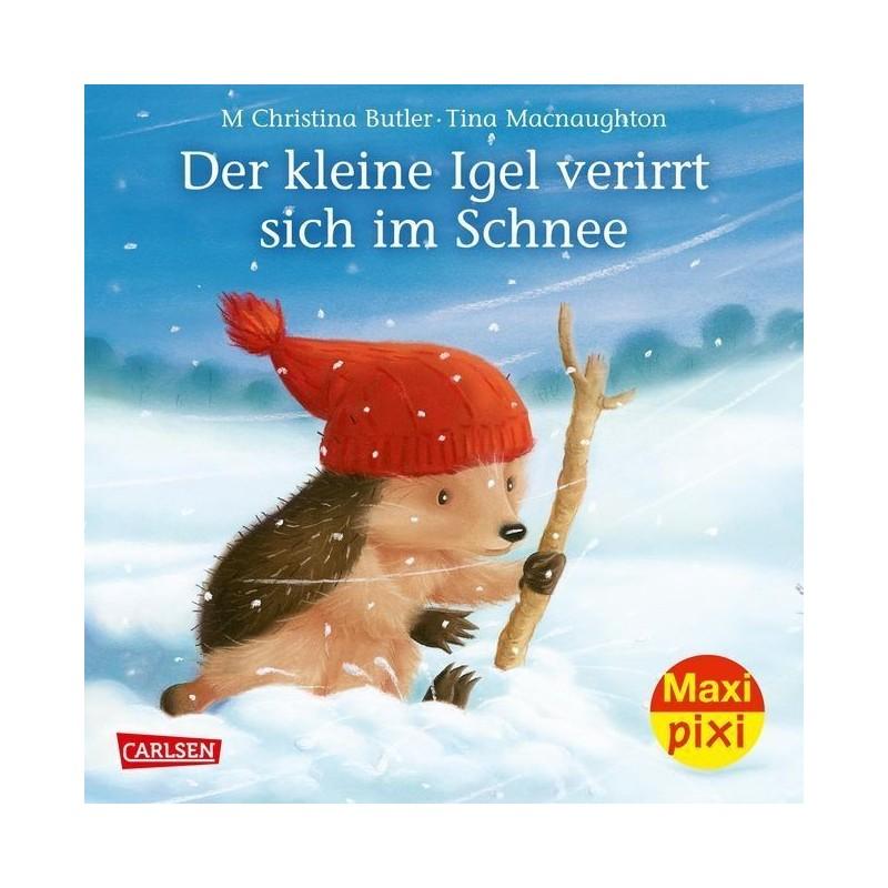 Der kleine Igel verirrt sich im Schnee - Maxi Pixi