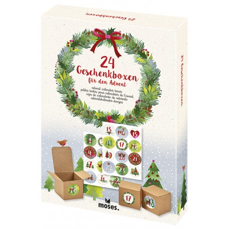Adventskalender-Boxen