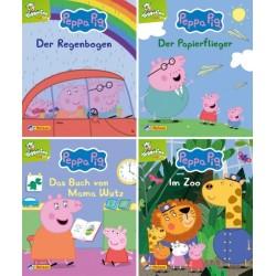 Peppa Pig - Peppa Wutz 9-12 - 4 Mini-Bücher