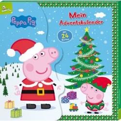 Peppa Pig Mein Adventskalender mit 24 Büchlein