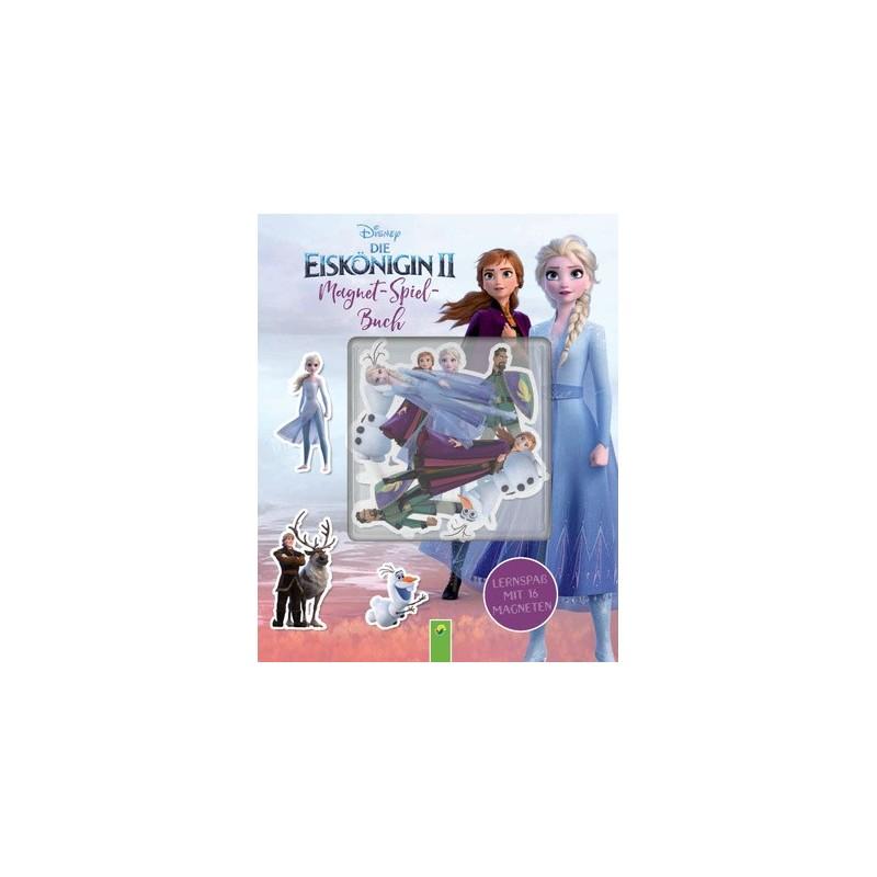 Frozen Die Eiskönigin 2 - Magnet-Spiel-Buch - Lernspass mit 16 Magneten