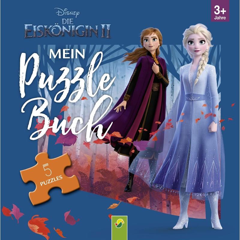 Frozen Die Eiskönigin 2 - Mein Puzzlebuch