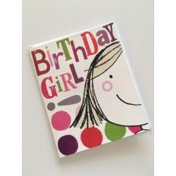 Geburtstagskarte - Birthday Girl