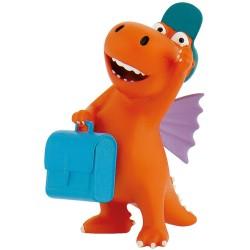 Der kleine Drache Kokosnuss Figur mit Koffer