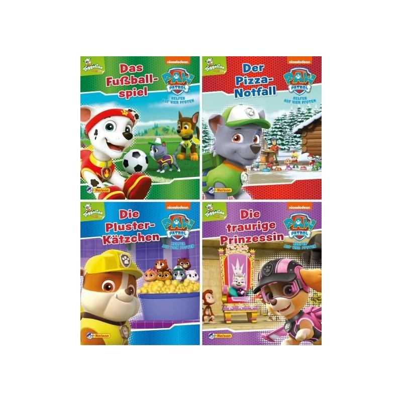 PAW Patrol 9-12 - 4 Mini-Bücher