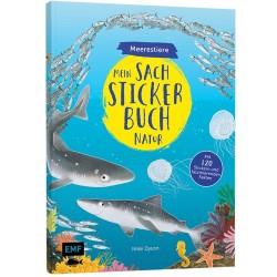 Mein Sach-Stickerbuch Natur Meerestiere