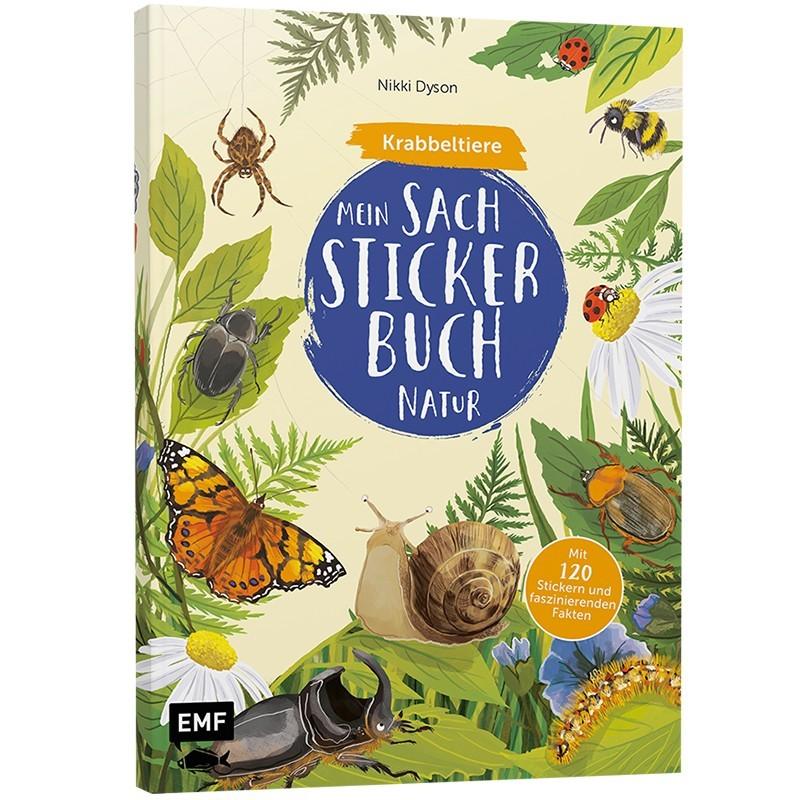 Mein Sach-Stickerbuch Natur Krabbeltiere