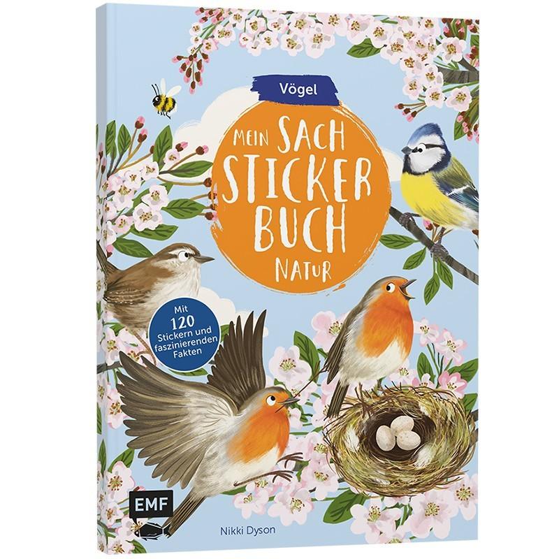 Mein Sach-Stickerbuch Natur Vögel