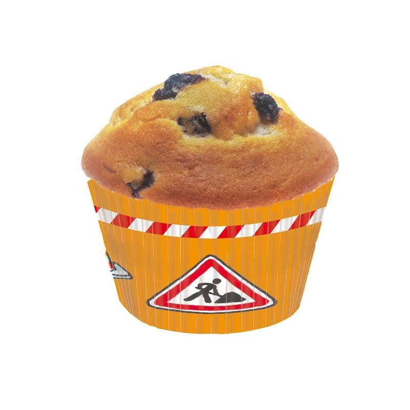Muffinförmchen Bagger, Baustelle und Co. aus dem Lutz Mauder Verlag
