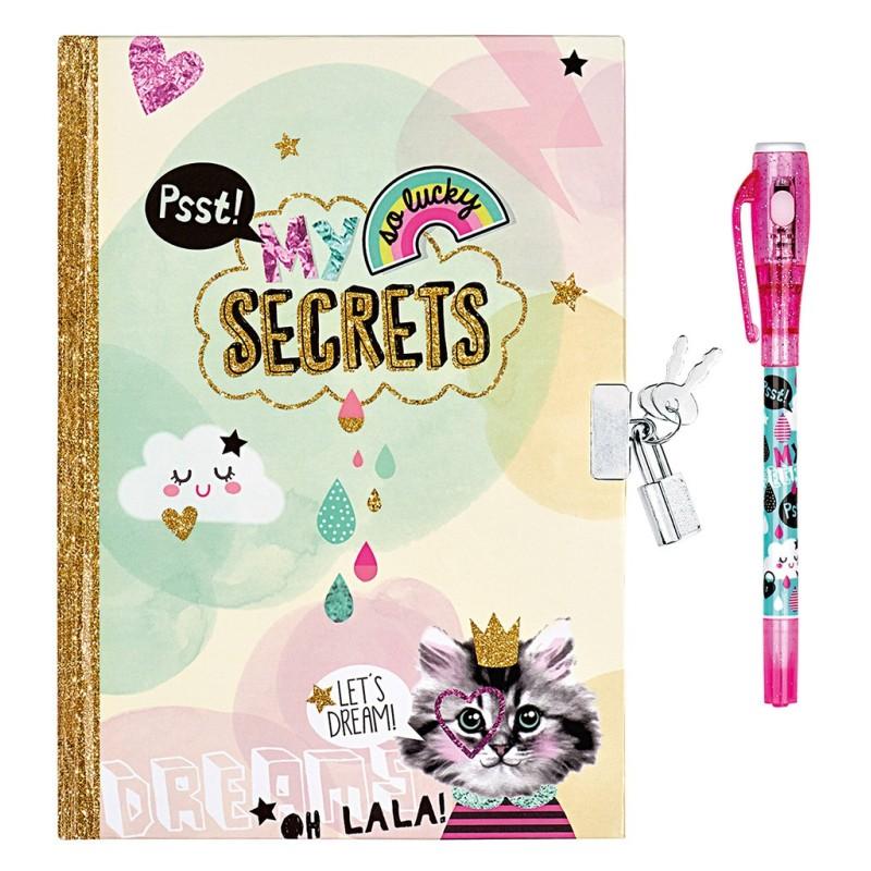 Tagebuch My secrets mit Geheimcodestift