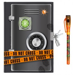 Tagebuch Top Secret mit Geheimcodestift