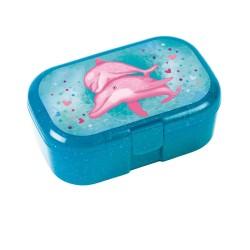 Mini Znünibox Glitzer Delfine von Lutz Mauder