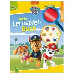 PAW Patrol Mein Lernspielbuch mit Löselupe