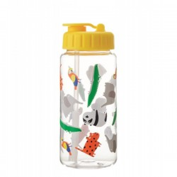 Trinkflasche Zoo aus Tritan 0.35l von Petit Jour Paris