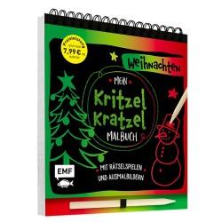 Mein Kritzel-Kratzel-Malbuch Weihnachten