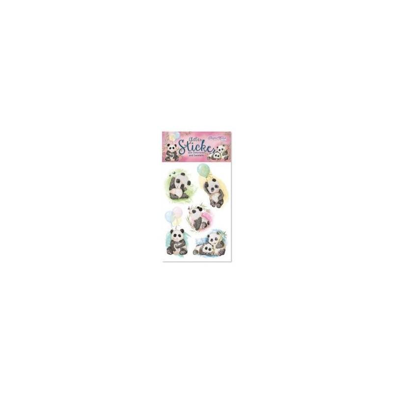 Glitter Sticker Pandas von Lutz Mauder