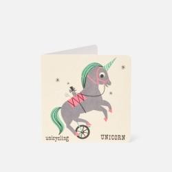 """Karte """"Unicorn"""""""