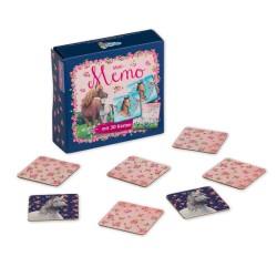 Mini Memo Spiel Pferde mit 30 Kärtchen von Lutz Mauder