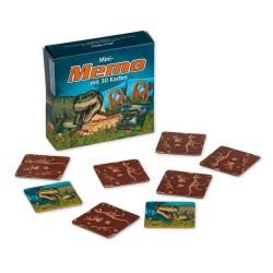 Mini Memo Spiel Dinosaurier mit 30 Kärtchen von Lutz Mauder