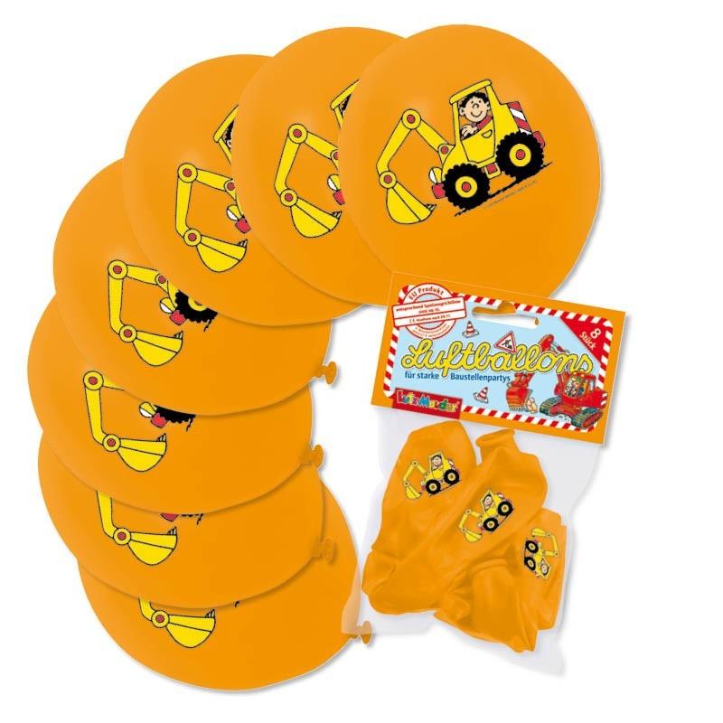Ballons Bagger aus dem Lutz Mauder Verlag