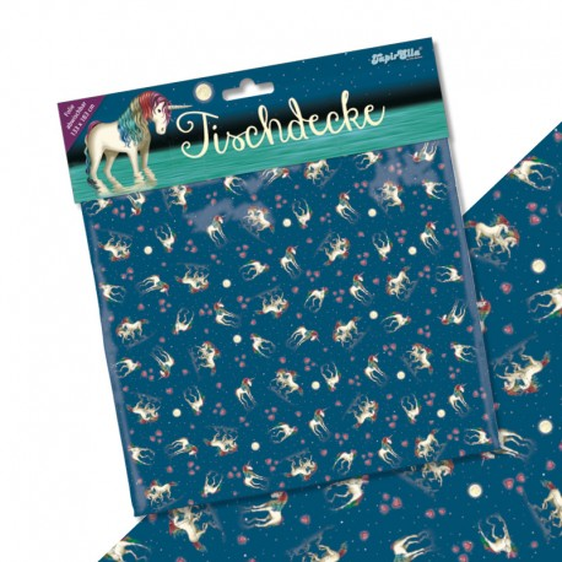 Tischdecke Einhorn Lunabelle aus dem Lutz Mauder Verlag