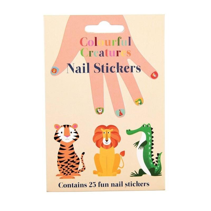 Nagelsticker Colourful Creatures von Rex London