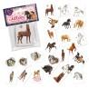Mini Tattoo Set Pferde TapirElla mit 24 Tattoos von Lutz Mauder