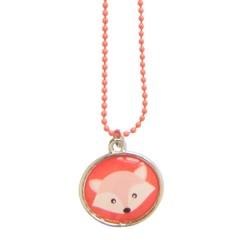 Halskette Woodland Fox mit Fuchs Anhänger für Kinder
